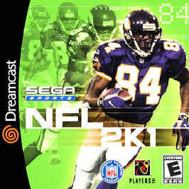NFL 2K1 - Dreamcast - Used