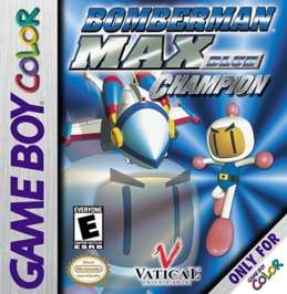 Bomberman Max - Blue: Champion - Game Boy Color - Used