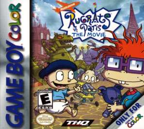 Rugrats in Paris -- The Movie - Game Boy Color - Used