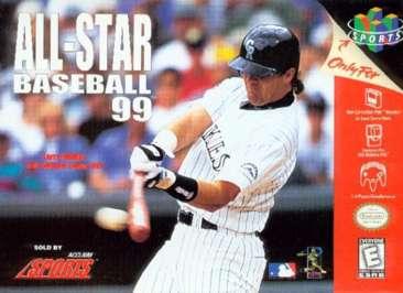 All-Star Baseball '99 - N64 - Used
