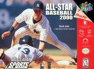 All-Star Baseball 2000 - N64 - Used