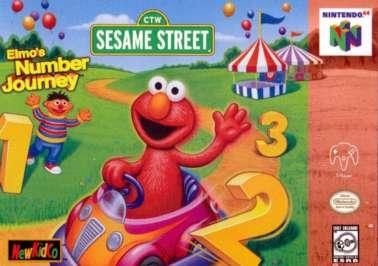 Elmo's Number Journey - N64 - Used