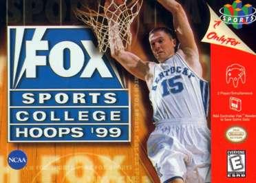 Fox Sports College Hoops '99 - N64 - Used