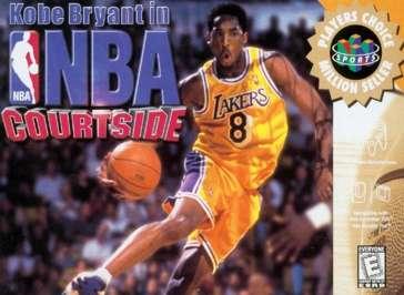 Kobe Bryant in NBA Courtside - N64 - Used