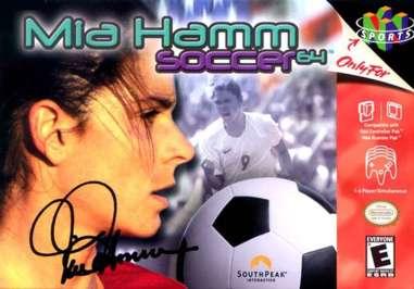 Mia Hamm Soccer 64 - N64 - Used