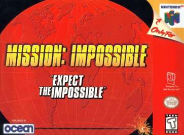 Mission: Impossible - N64 - Used