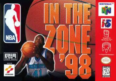 NBA In the Zone '98 - N64 - Used