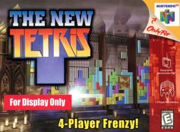 New Tetris - N64 - Used