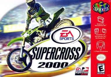 Supercross 2000 - N64 - Used