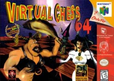 Virtual Chess 64 - N64 - Used
