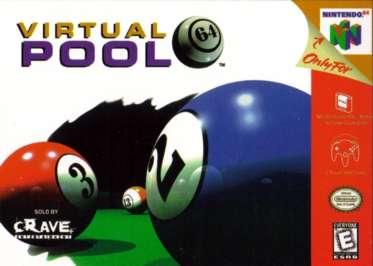Virtual Pool 64 - N64 - Used