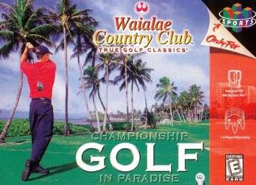 Waialae Country Club: True Golf Classics - N64 - Used