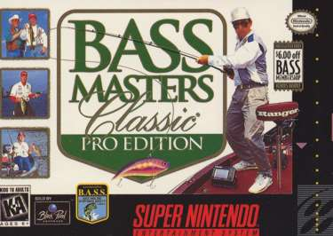 Bass Masters Classic: Pro Edition - SNES - Used