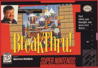 BreakThru! - SNES - Used