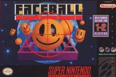 Faceball 2000 - SNES - Used