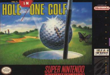 Hal's Hole in One - SNES - Used