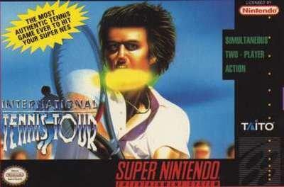International Tennis Tour - SNES - Used