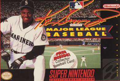 Ken Griffey Jr. Presents Major League Baseball - SNES - Used