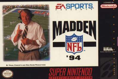 Madden NFL '94 - SNES - Used