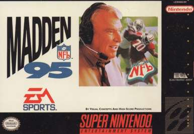 Madden NFL '95 - SNES - Used