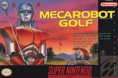 Mecarobot Golf - SNES - Used