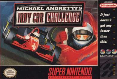 Michael Andretti's Indy Car Challenge - SNES - Used