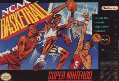 NCAA Basketball - SNES - Used