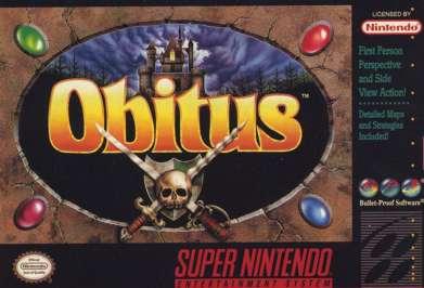 Obitus - SNES - Used