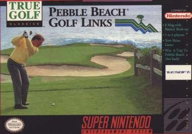 Pebble Beach Golf Links - SNES - Used