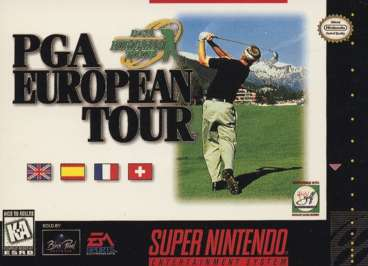 PGA European Tour - SNES - Used