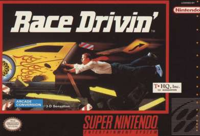 Race Drivin' - SNES - Used