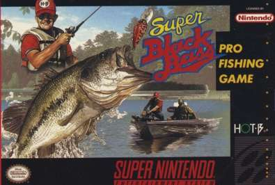 Super Black Bass - SNES - Used