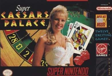 Super Caesars Palace - SNES - Used
