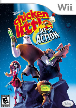 Chicken Little: Ace In Action - Wii - Used