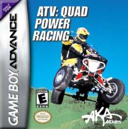 ATV Quad Power Racing - GBA - Used