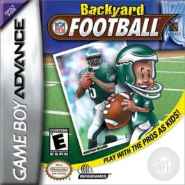 Backyard Football - GBA - Used