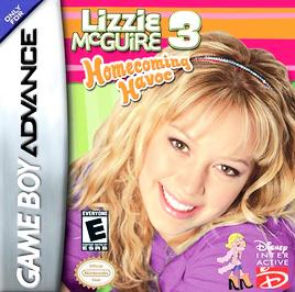 Disney's Lizzie McGuire 3: Homecoming Havoc - GBA - Used