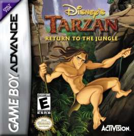 Disney's Tarzan: Return to the Jungle - GBA - Used