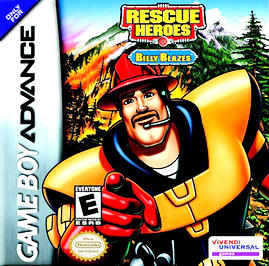 Fisher-Price: Rescue Heroes: Billy Blazes - GBA - Used