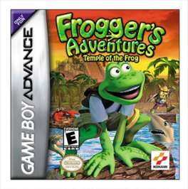 Frogger's Adventure: Temple of the Frog - GBA - Used