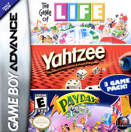 Game of Life / Yahtzee / Payday - GBA - Used
