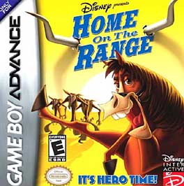 Home on the Range - GBA - Used