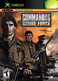 Commandos Strike Force - XBOX - Used
