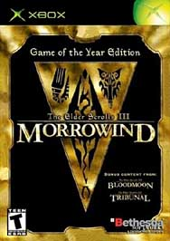 Elder Scrolls III: Morrowind -- Game of the Year Edition - XBOX - Used