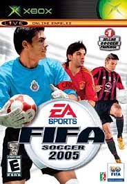 FIFA Soccer 2005 - XBOX - Used