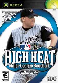 High Heat Major League Baseball 2004 - XBOX - Used
