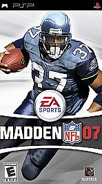 Madden NFL 07 - PSP - Used
