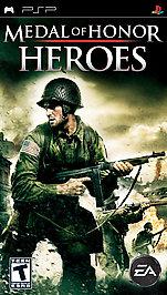 Medal of Honor Heroes - PSP - Used