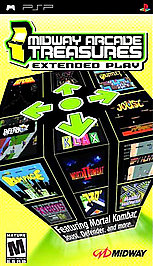 Midway Arcade Treasures: Extended Play - PSP - Used