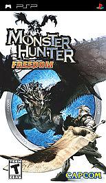 Monster Hunter Freedom - PSP - Used